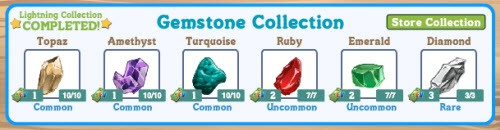 farmville gemstone collection