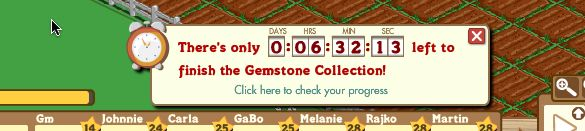 farmville gem stone collection