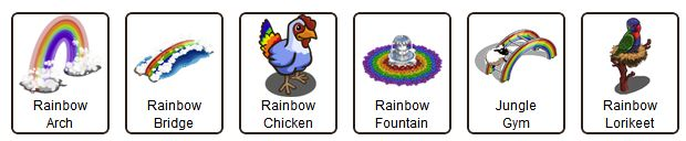 farmville mystery game rainbow images