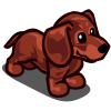 farmville red dachshund