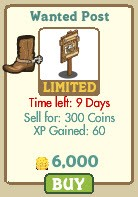 farmville wanted poster