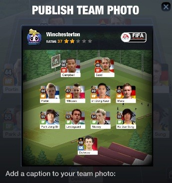 Publish Your Team Photo