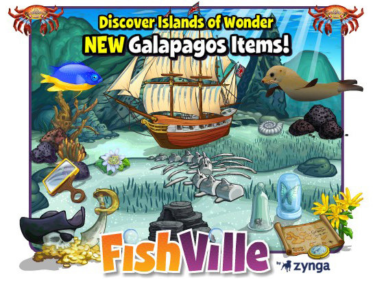 FishVille Galapagos Items