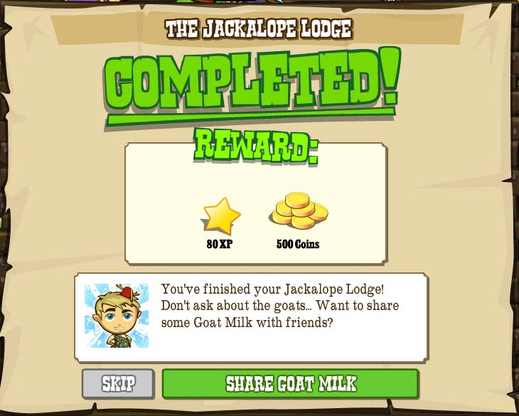 jackalope lodge completed rewards -- click for larger pic