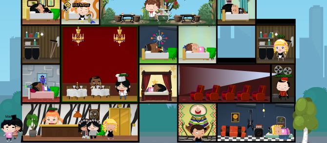 hotel city best facebook games games.com