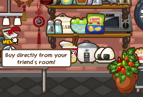 Pet Society Buy directly from your friend's room!