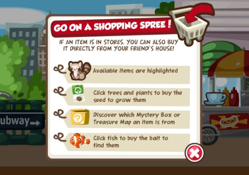 Pet Society Shopping Spree Buy Directly