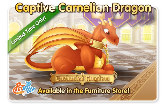 Captive Carnelian Dragon