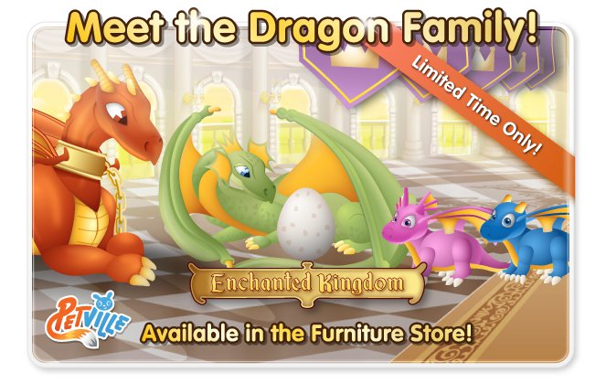PetVille Dragon Family