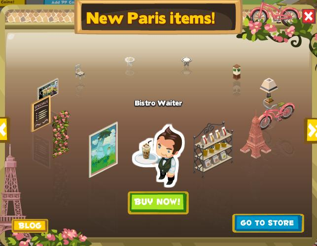 New Paris Items