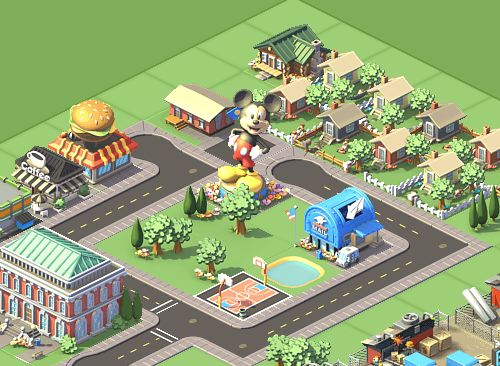 mickey mouse social city