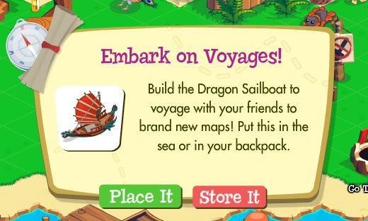 Treasure Isle Dragon Sailboat