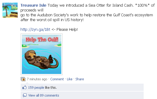 Treasure Isle emphasizes their pledge of 100% again