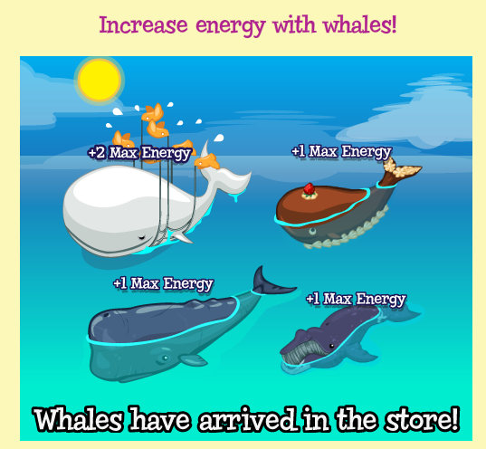 Treasure Isle whale energy