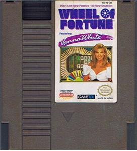 wheel of fortune featuring Vanna White Nintendo