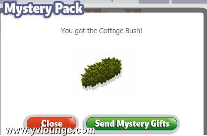yoville cottage mystery box prizes