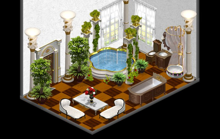 yoville romantic bathroom