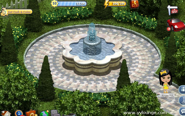 yoville romantic house