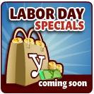 Labor Day Specials coming soon to YoVille