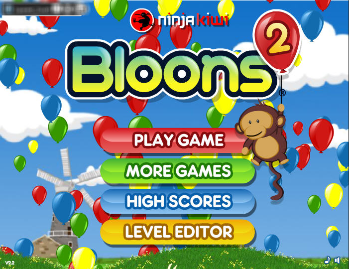 Free Online Games - Bloons 2
