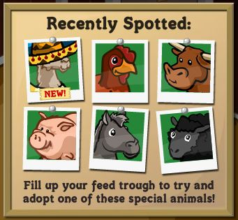 farmville feed trough animals