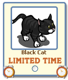 FarmVille Black Cat Limited Time Gift