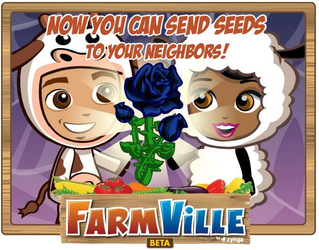 farmville black rose seeds halloween