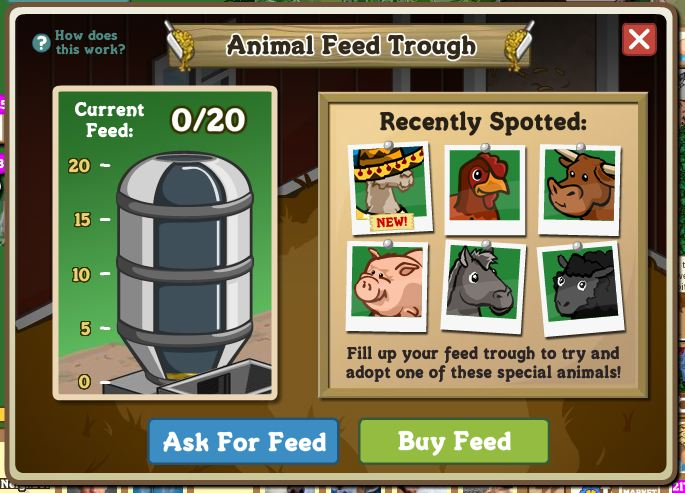 farmville feed trough inside