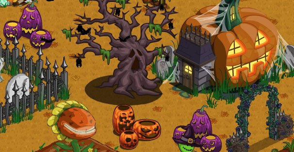 while halloween is now just a few days away that hasnt stopped zynga from adding even more halloween items to the farmville marketplace with tonights - Halloween Items