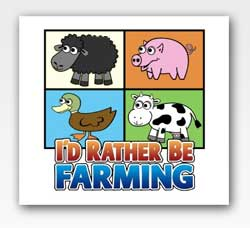 I'd rather be farming
