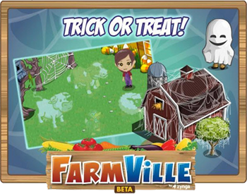 farmville trick or treat halloween
