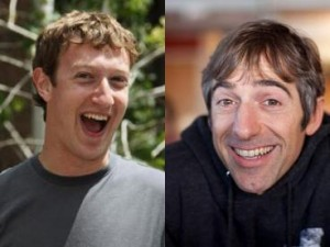 Mark Zuckerberg and Mark Pincus