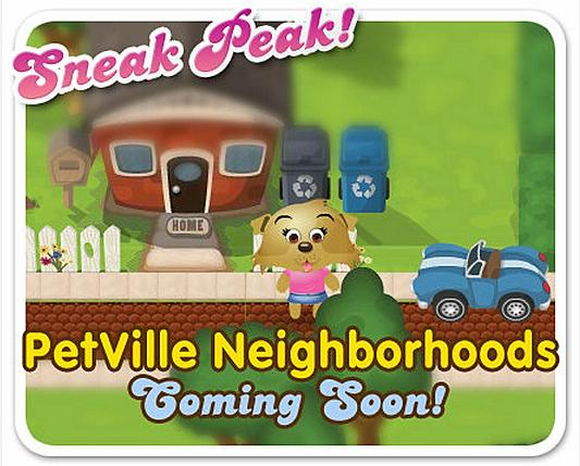PetVille Neighborhoods