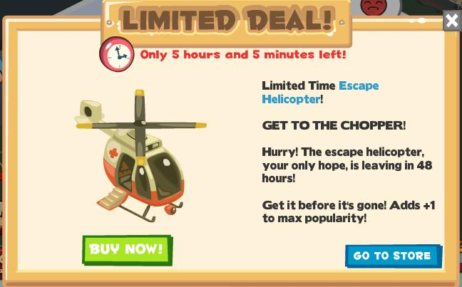 Escape Helicopter