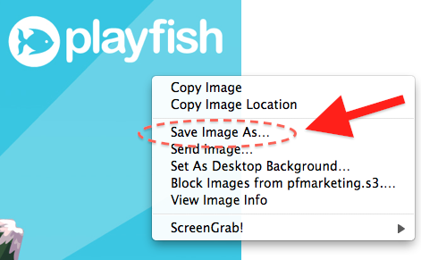 Playfish: How to Save Wallpapers