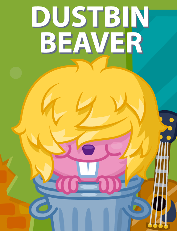 Moshi Monsters Get Dustbin Bieber And Three More Exclusive In Game Items Right Here Aol Games