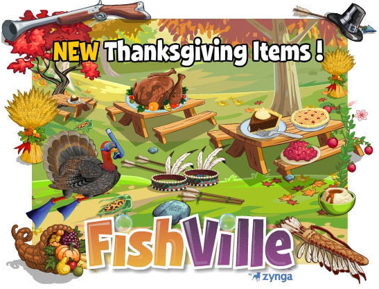 Thanksgiving in FishVille