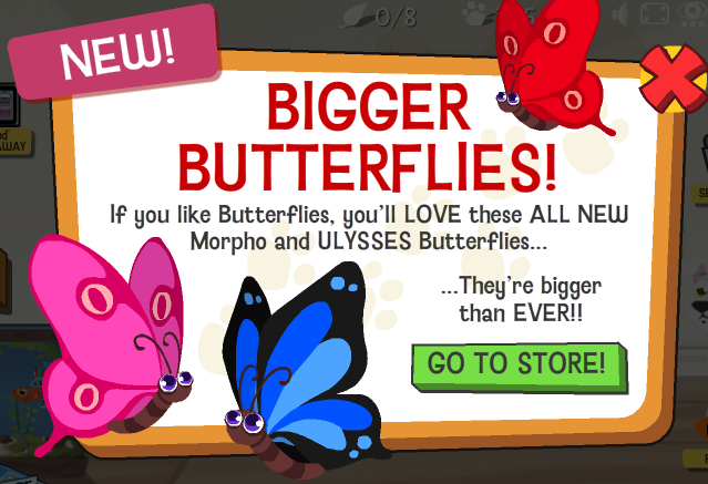 Bigger Butterflies