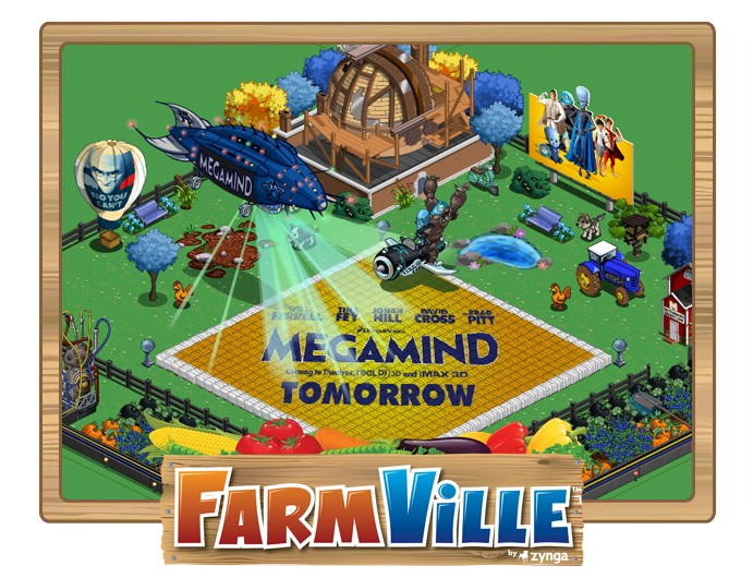 farmville megamind promo coming this thursday