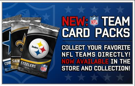 Team Card Packs