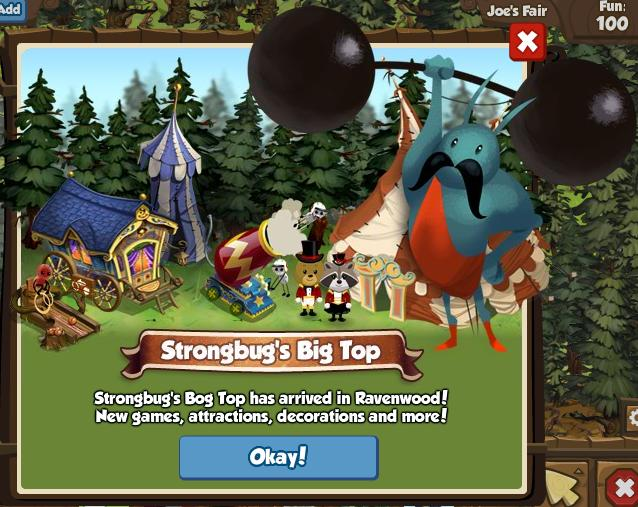 Strongbug's Big Top
