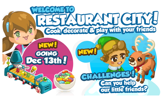 Restaurant City Candy Week updates
