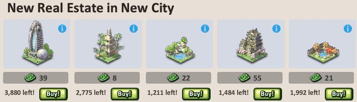 Social City Japanese Items