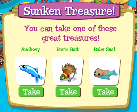 Treasure Isle Sunken Treasure