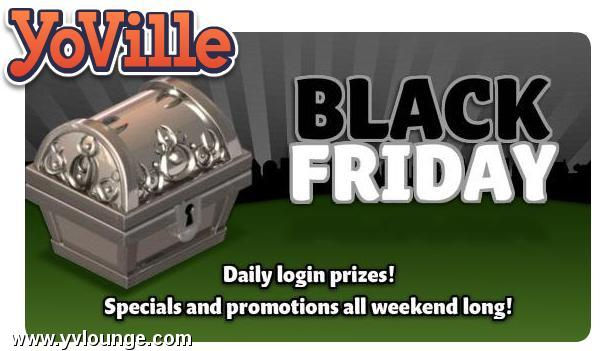 YoVille Black Friday