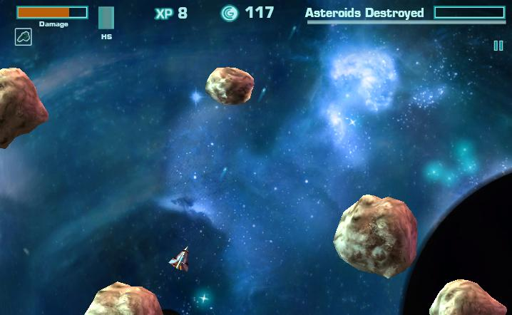 Asteroids Online Game