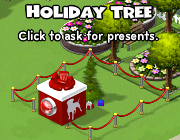 CityVille Holiday Tree