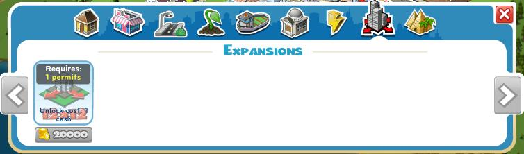 Expansion Menu