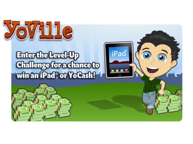 YoVille Level-Up Challenge