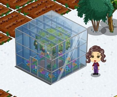 farmville green house cube